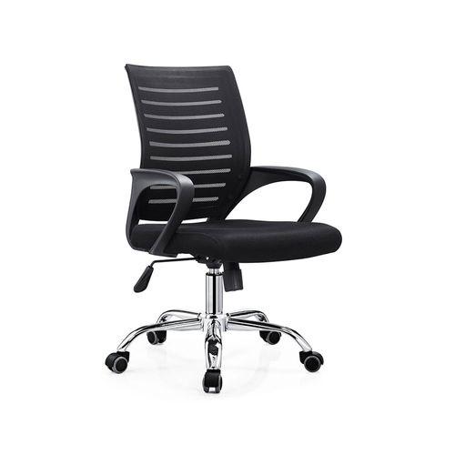 Silla de oficina ejecutiva Proshopper Washington respaldar en malla nylon, 120 kg, negro