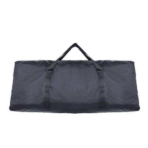 Bolsa para transporte de scooter, color negro, tela impermeable, portátil, 125x45x50cm, con correa de mano doble reforzada