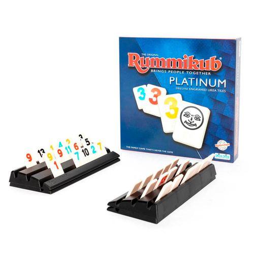 RUMMIKUB ORIGINAL (PLATINUM), Juego de Combinaciones para Hacer Tríos y Escaleras