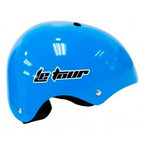 Casco Skate talla M color celeste sólido, de 11 ventilaciones y con regulación, tamaño de cabeza: 55 - 57 cm