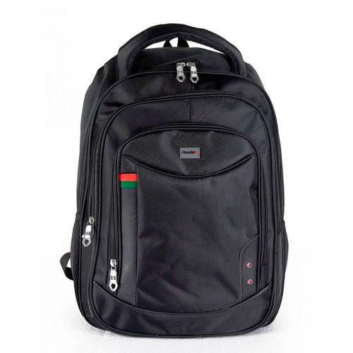 """Mochila Porta Laptop hasta 15.6"""" con Colchon de Aire Trasero Color Negro"""