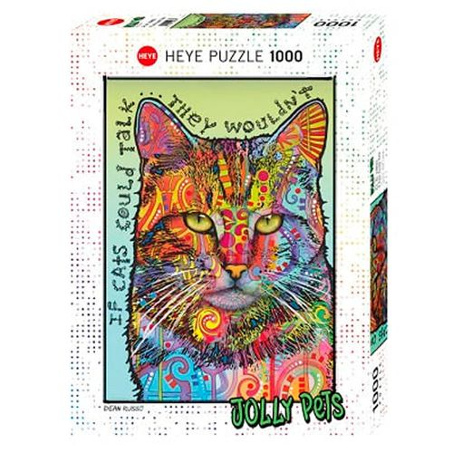 Rompecabezas de 1000 piezas, RUSSO, If Cats Could Talk