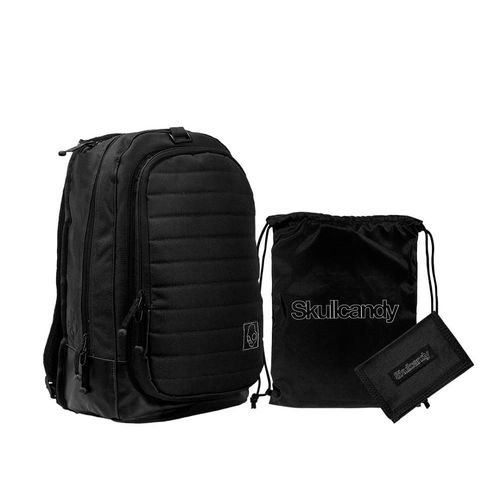 Pack Mochila + Billetera + Carry Sack Color Negro