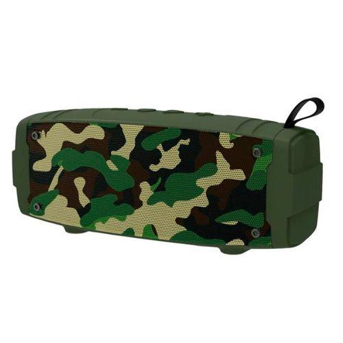 Parlante bluetooth Soldier diseño camuflado, puerto USB, micro SD, Aux-in, función manos libres
