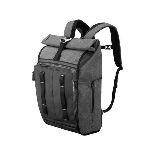 Mochila tokyo 17 smoked pearl, todo cabe en esta mochila, con capacidad de 17 Litros, organizador de documentos y numerosos bolsillos