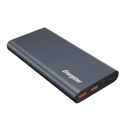 Batería externa de 10,000 mAh indicador Led USB-C color gris