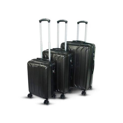 """Set de 3 Maletas Carry-on de Cuerpo Rígido, 3 tamaños diferentes 20"""" - 24"""" - 29"""", cuentan con ruedas giratorias y asa regulable"""