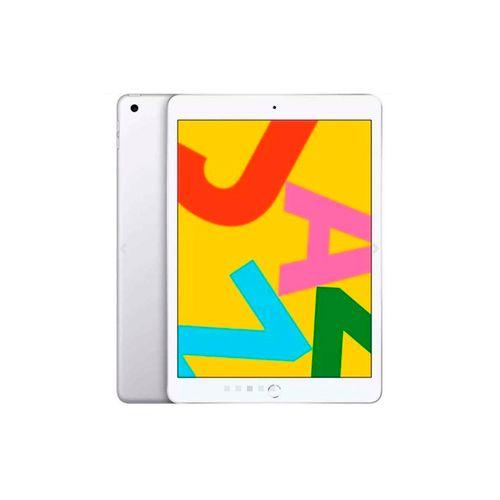 """Tablet Ipad Apple 7th generación, pantalla 10.2"""", memoria 32GB, cámara frontal 1.2MP y posterior 8MP, color Gris"""