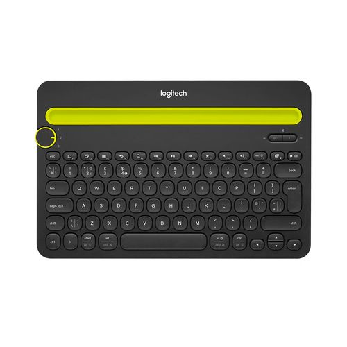 Teclado Inalámbrico Bluetooth Multidispositivo K480 Color Negro