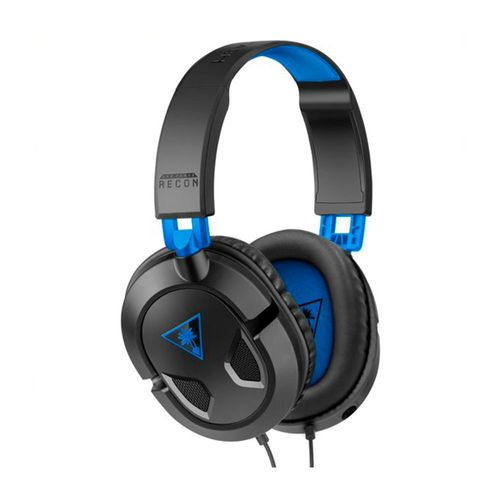 Turtle Beach Headset Recon 50P Color Negro Para Playstation 5,Ps4 Xbox One, Xbox Series X|S Compatible Para Telefonos Y Tablets Con Entrada De 3.5Mm