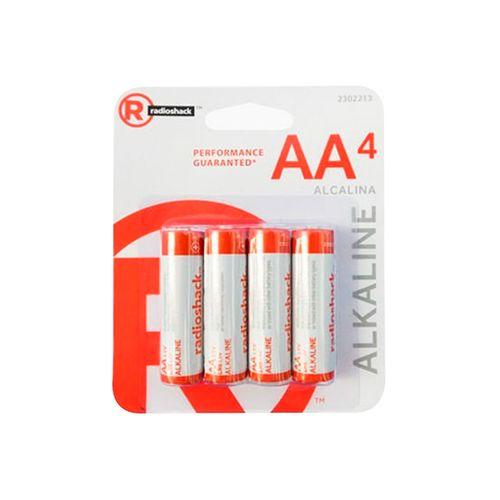Pilas Alcalina AA X 48Radioshack Larga Duración