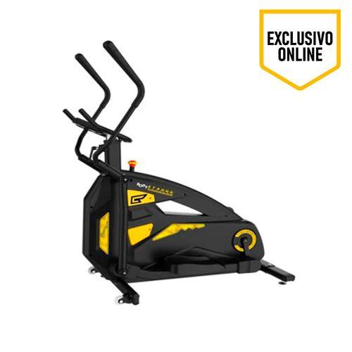 Eliptica Fun Walker, Active Life, volante de 22kg, resistencia manual, pantalla digital, funciones de velocidad,tiempo,distancia,calorías,pulso,RPM
