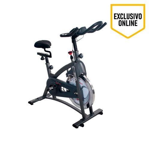 Bicicleta Estacionaria Sp102S, Resistencia Magnetica, Peso Usuario 100Kg, Volante 16 Kg, Mide Distancia, Tiempo Y Calorías,Soporte Tablet Y Liquidos