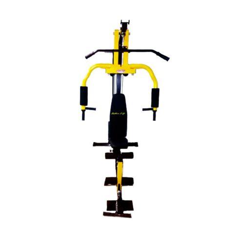 Mini gimnasio Active Life con polea alta y baja, peso por bloque 50 kg