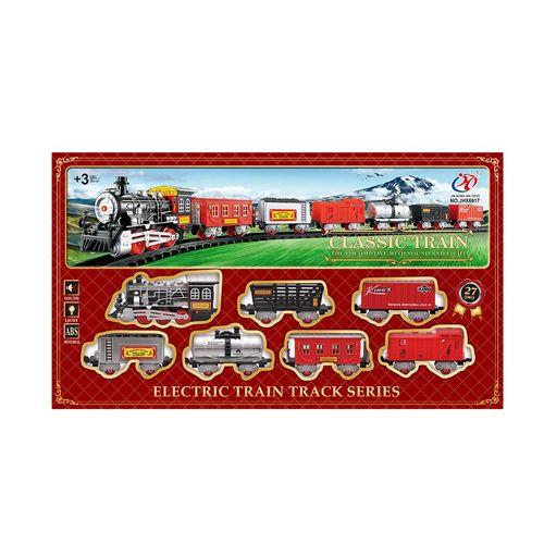 Armable tren de juguete clásico Longwish 6617 multicolor