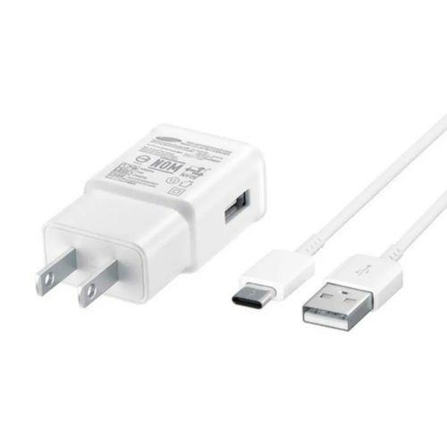 Cargador de carga rápida para pared cable + adaptador de USB a Tipo C 15 W Samsung