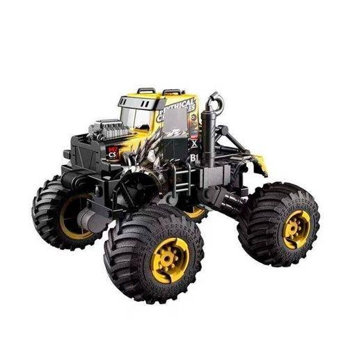 Tractor con Llantas Oversize 4x4 a Control Remoto, Escala 1:16, Recargable, Hasta 15KPM, Color Amarillo