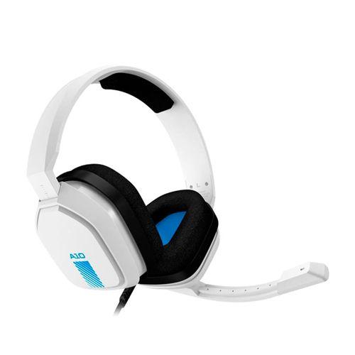 Audífonos Gaming A10 Color Blanco con Conector 3.5 mm y Compatibles con PC, MAC, PS4 y Xbox