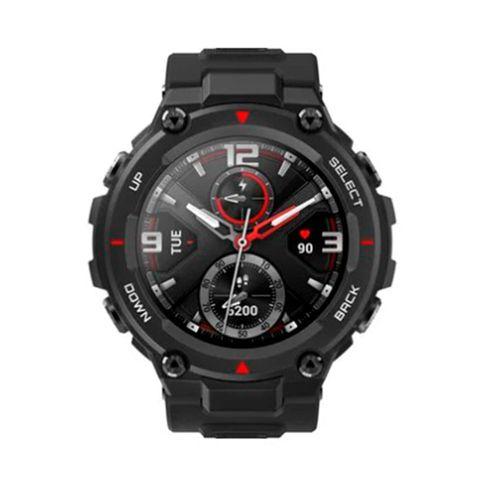 """Smartwatch Amazfit T-Rex, 12 certificaciones militares, duración de la batería de 20 días, pantalla amoled de 1.3"""", sumergible a 5 atm, gps, negro"""