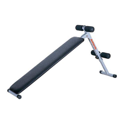 Banca plana para abdominales Sit Up Bench 100, de uso domestico, plegable, peso máximo de usuario 100 kg