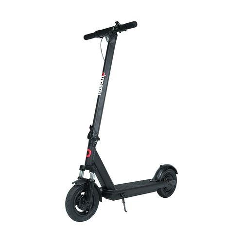 """Scooter eléctrico Roadtrip Pro negro, autonomía 25km, vel máx 25km/h, llantas inflables 10"""", suspensión delantera, luz delantera, posterior y timbre"""