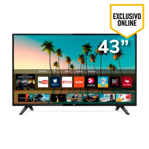 Televisor Philips Led Ultra HD 4K, Smart, pantalla de 43""