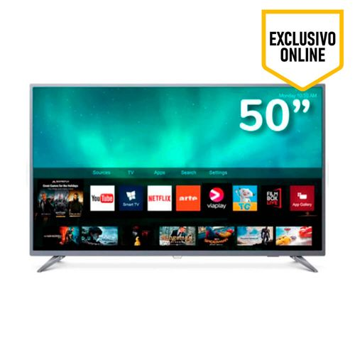Televisor Philips 4K Ultra HD, Smart TV, pantalla de 50""