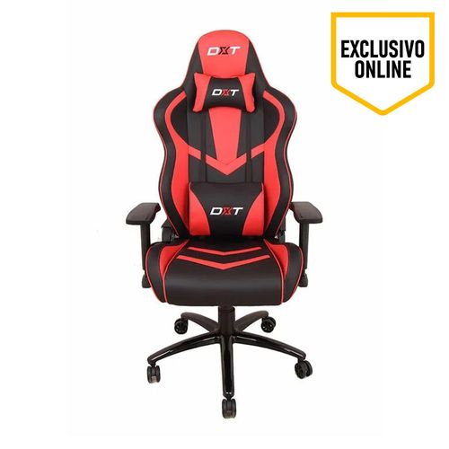 Silla Gaming Racing Red , Gas Lift Clase 4, Soporta 150 Kg