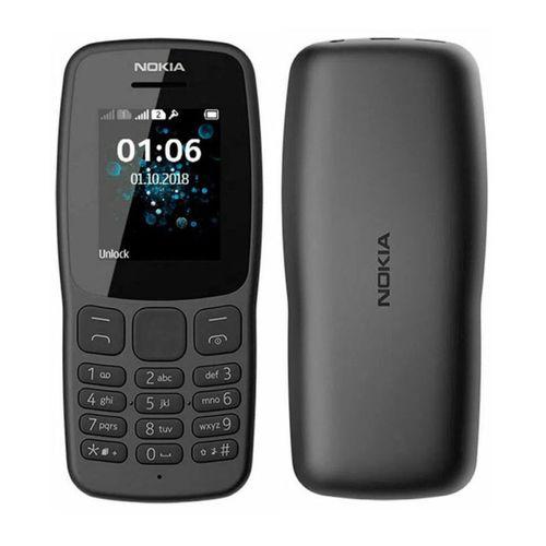 Nokia 106, batería dura más de 15 horas de llamadas, suficientemente resistente