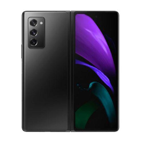 """Celular Samsung Galaxy Z Fold2, cámaras trasera 12+12+12, cámaras frontales 10MP, memoria 256, RAM 12GB, pantalla de  6.2"""" pulgadas, DS, color negro"""