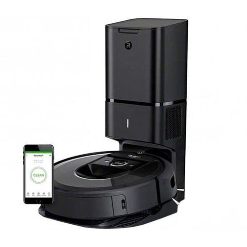 Robot aspirador Roomba-i7, vacía residuos automáticamente en una bolsa desechable, limpieza superior de 3 fases, trazado de mapas inteligente