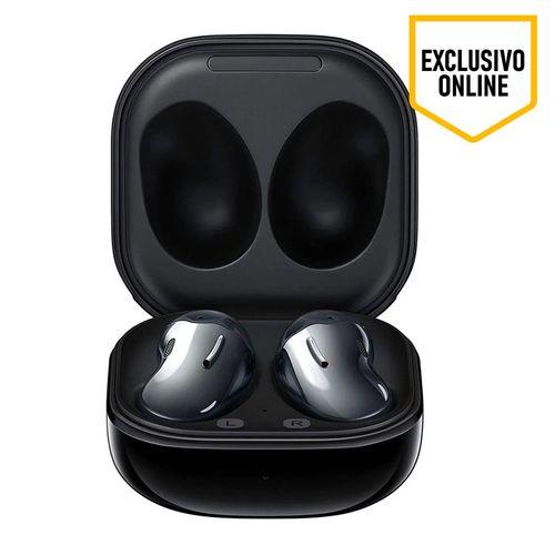 Audífono Bluetooth True Wireless Galaxy Buds Live, acabado brillante, con Cancelación de ruido Activa, micrófonos integrados, color Negro