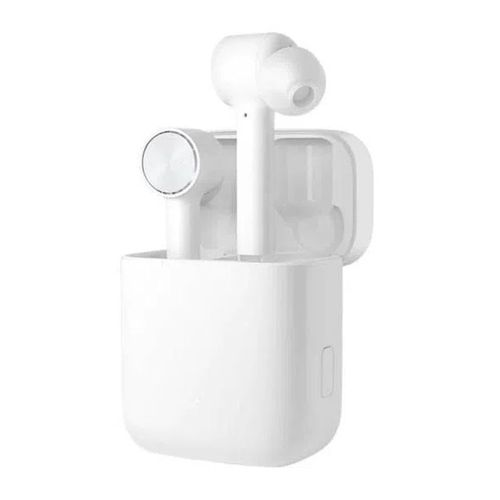 Audífonos Bluetooth True Wireless Xiaomi MI 2 BASIC, controles tátil, micrófono dual incorporado, estuche de carga portátil, color Blanco