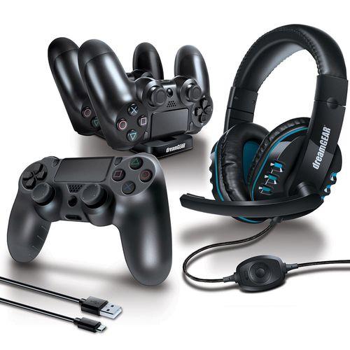 Kit Gamer De Accesorios Para Ps4 Dreamgear