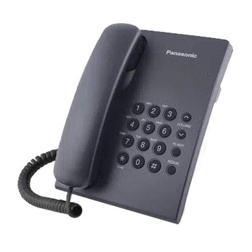 Teléfono Alámbrico con Marcado Rápido Negro
