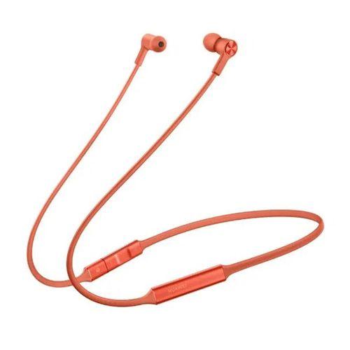 Audífono Bluetooth In ear FreeLace banda cuello, carga rápida, Hi Pair, color Ambar Sunrise