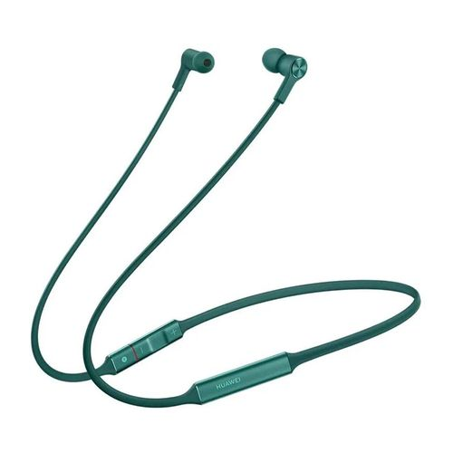 Audífono Bluetooth In ear FreeLace banda cuello, carga rápida, Hi Pair, color Esmeralda