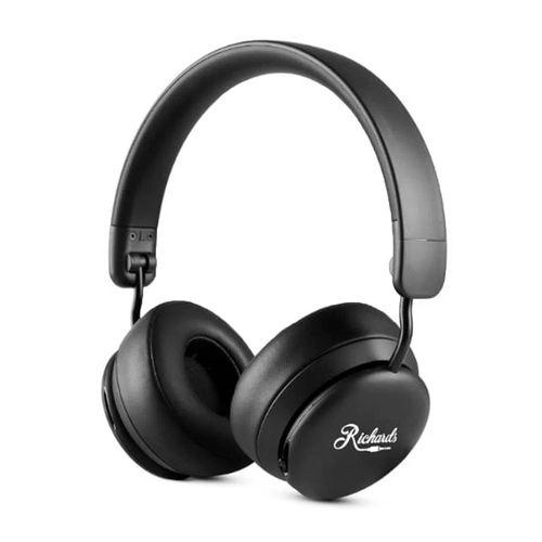 Audífono bluetooth on ear Richards Alabama Swing micrófono incorporado, máx. 12 horas, negro