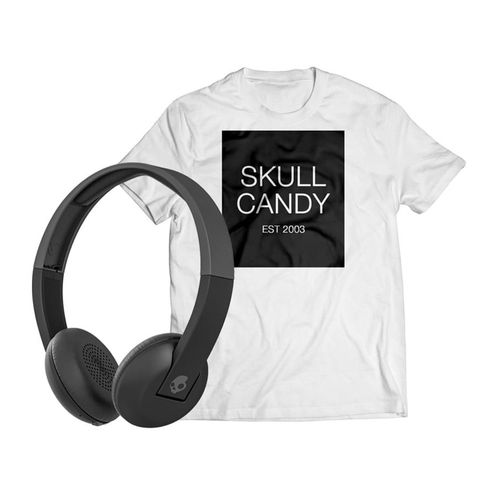 Audífono Bluetooth On ear Uproar + Polo talla estándar, Negro