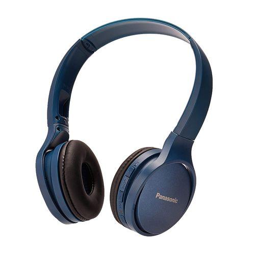 Audífono On Ear Bluetooth RP-HF410BPU Azul - Funcion Manos Libres/Microfono, 24 Horas de Reproduccion Continua, Ultralivianos