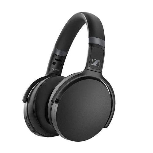 Audífono Bluetooth On ear SENNHEISER NOISE CANCELLING HD450BT, micrófono incorporado, 30 horas, carga rápida, conexión Auxiliar,Asistente de voz,Negro