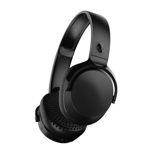Audífono Bluetooth On Ear RIFF, micrófono integrado, control de música y llamadas, carga rápida, diseño plegable, almohadillas acolchadas, Negro