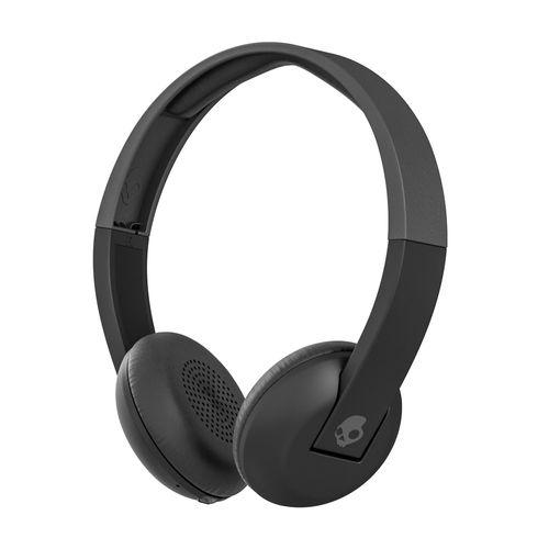 Audífono Bluetooth On ear Uproar diseño liviano con micrófono para llamadas, Gris