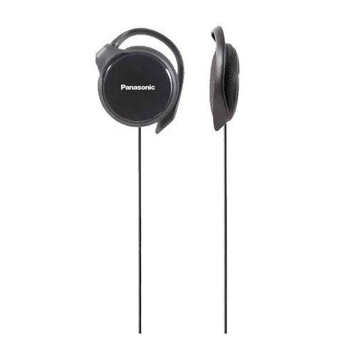 Audífono con almohadillas ultra delgado HS46 diseño ergonómico, cable plug 3.5mm, Negro