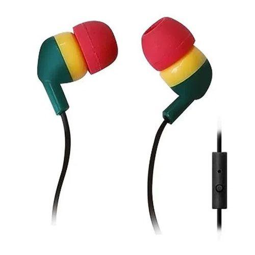 Audífono in ear con micrófono Black Sheep control para música y llamadas, conector 3.5 mm, negro