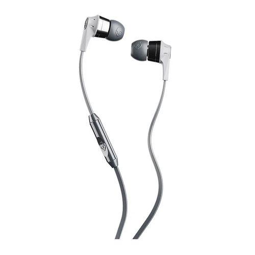 Audífono In ear con micrófono INKD cable plug 3.5mm, almohadillas de silicona, Gris Cromo