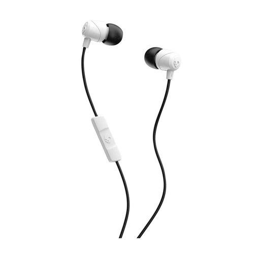 Audífono In ear con micrófono JIB PILL cable plug 3.5mm, almohadillas de silicona, Blanco