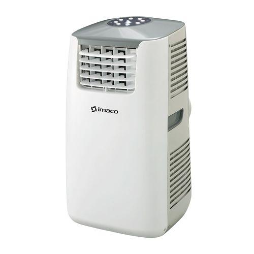Aire acondicionado portátil de 12000 btu, panel digital, 3 en 1, timer hasta 24h, auto-off, control remoto