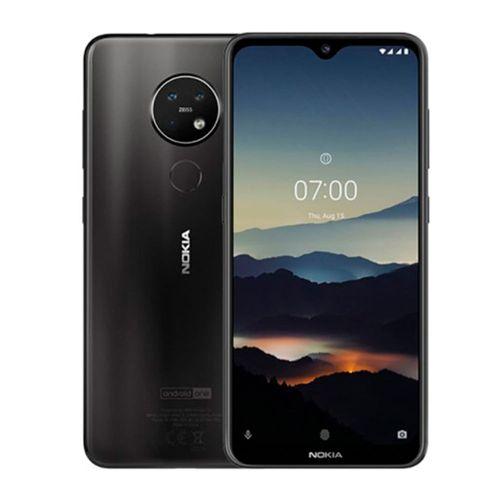 """Celular Nokia 7.2, cámara principal 48+5+8MP, frontal 20MP, almacenamiento 128GB, RAM 4GB, pantalla 6.3"""" - negro"""