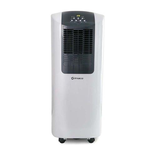 Aire acondicionado portatil de 8500 btu, función: ac/ventilador, 3 niveles de temperatura, timer hasta 12h, control remoto